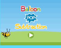 Subtraction Balloon pop