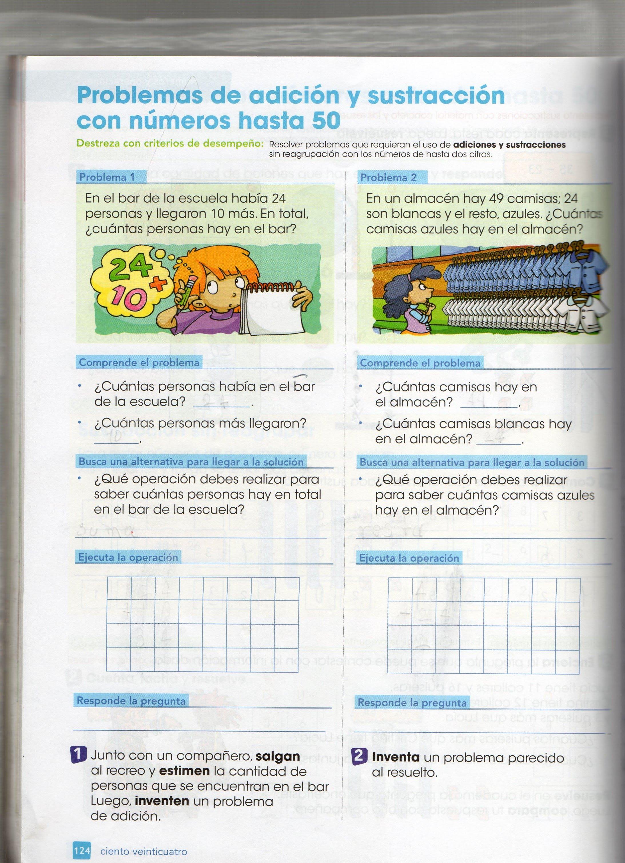 Tarea en casa Matemàtica - Segundo B