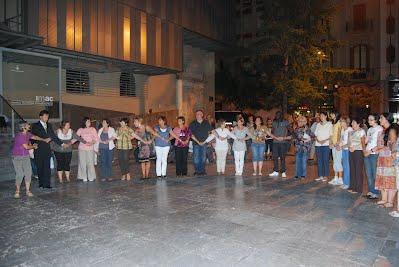 Taller de danses de la Mediterrània. Plaça de les Comèdies, 18 de setembre 2010