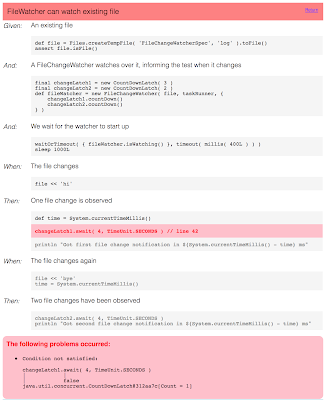 Failure Real-world report with source code