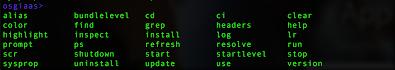 core commands