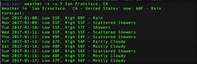 weather command run