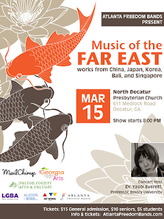 Music of the Far East Concert Poster