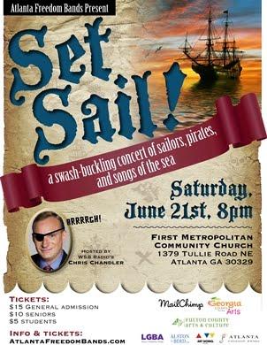 Set Sail Concert Poster