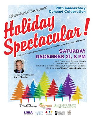 Holiday Spectacular Concert Poster