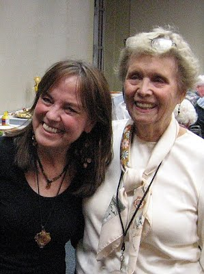 Linda Stogner with Anne Buckley