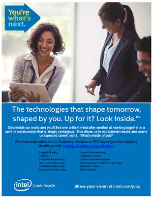 Intel - invitation to apply