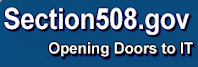 Logo and link for Section508.gov.