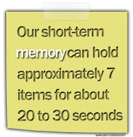 Short Term Memory Sign
