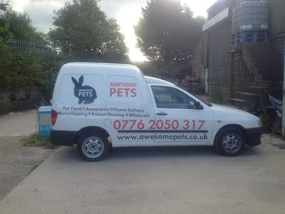 Our Delivery Van