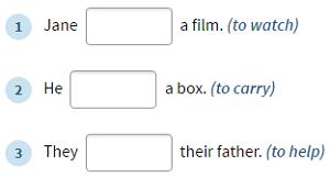 Past Simple Tense Regular Verbs Còpia Anglès Primària