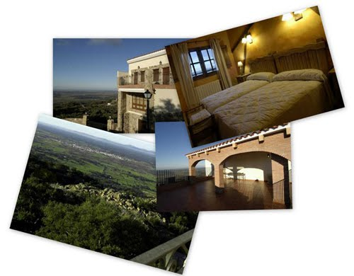 Collage de imágenes de Casa Rural El Balcón de Extremadura