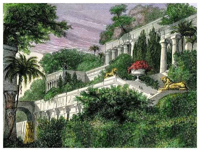 No One Is Certain If The Gardens Really Existed, But A Picture Of What They  May Have Looked Like Is Below. Take A Look!