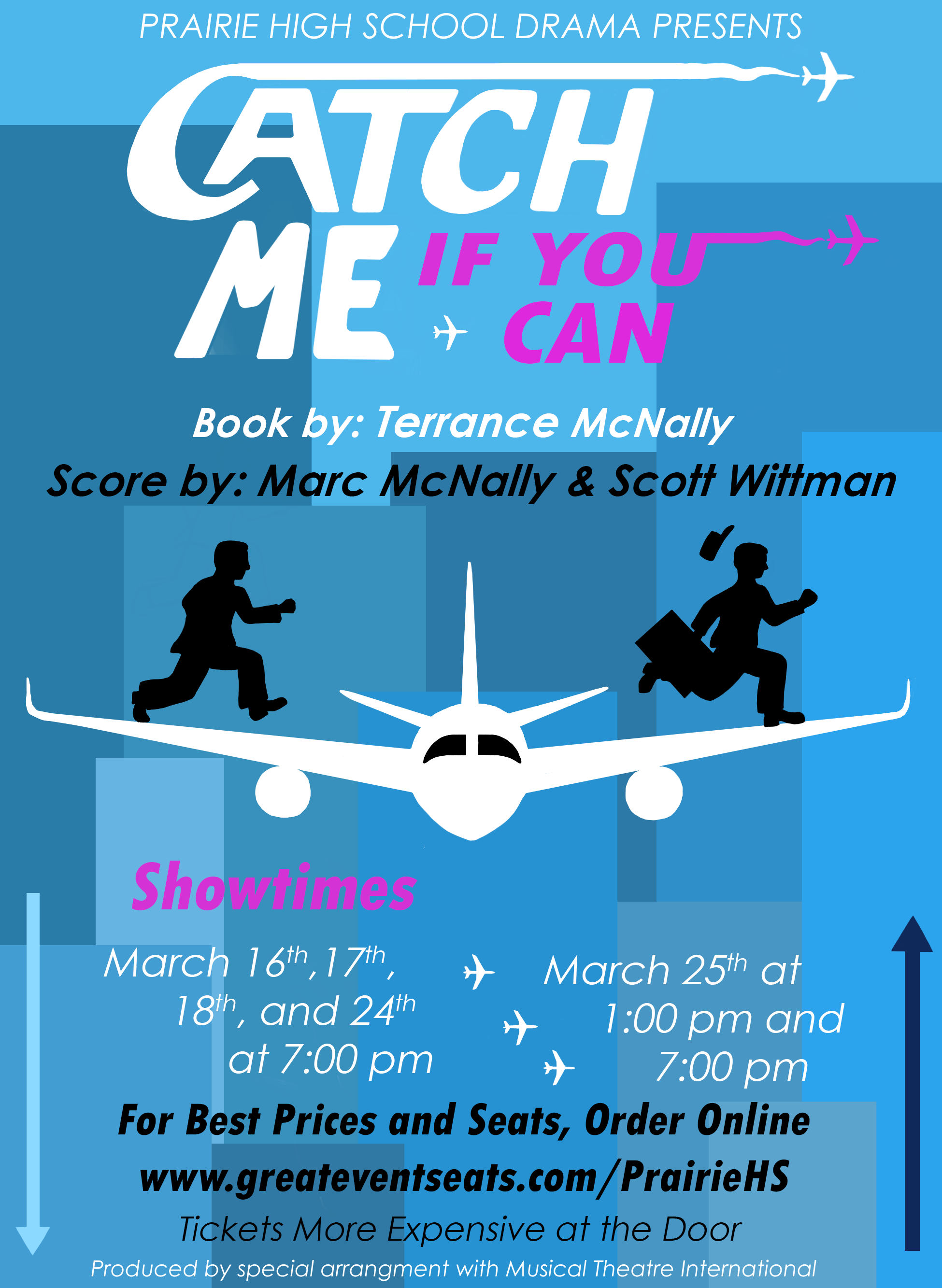 Prairie High School Drama Set To Perform Catch Me If You Can