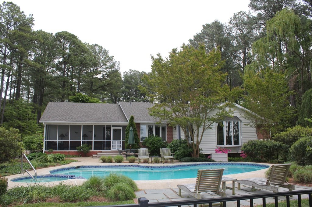 Sandy Pines Pool and House