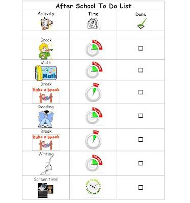 example to do list davis lane school specialists