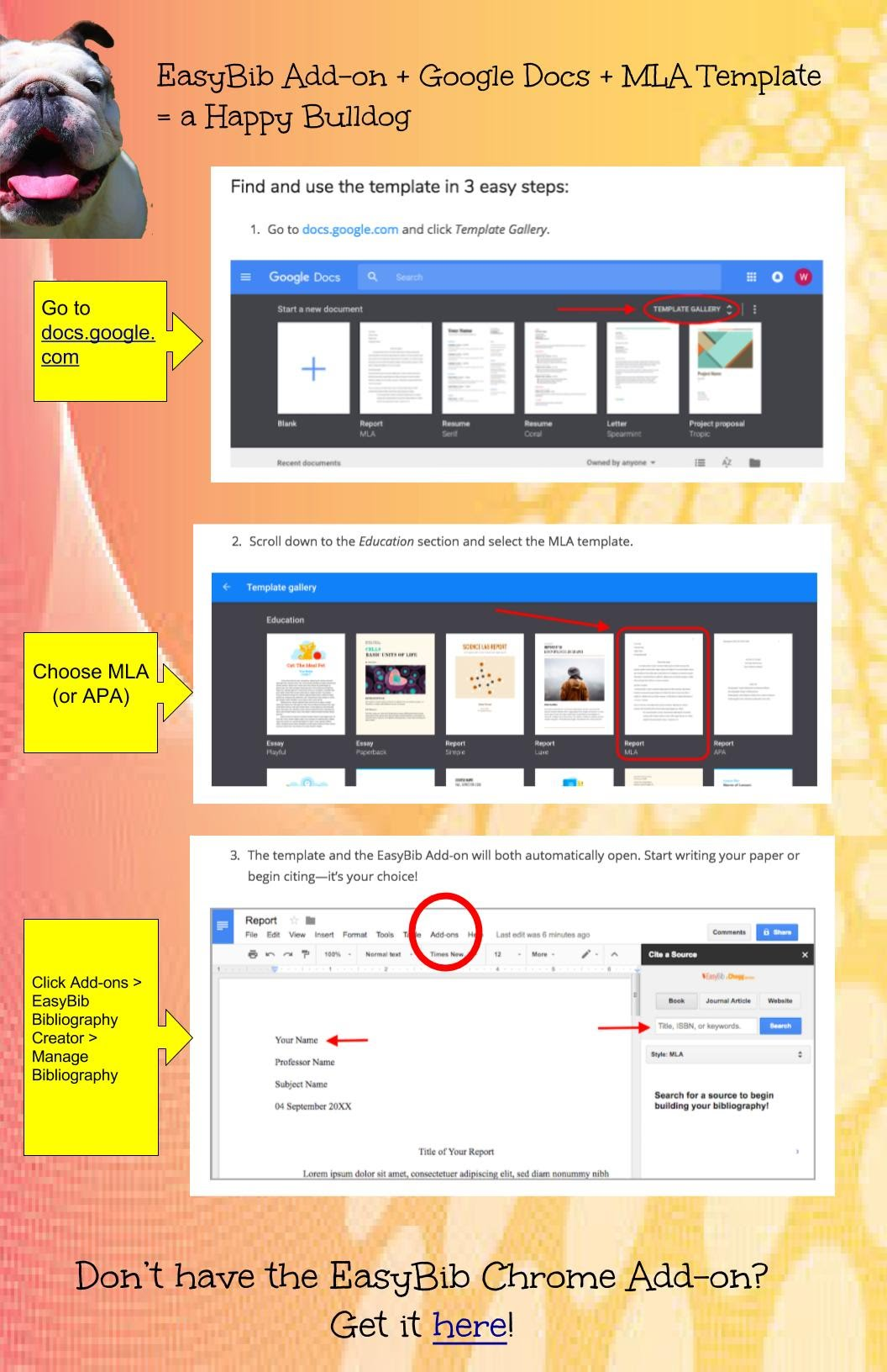 format your paper with mla and google docs