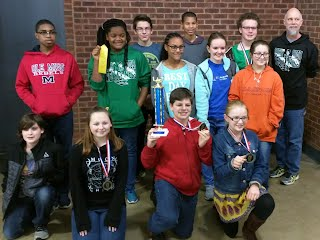 Westerner Math Wizards at Belleville East Feeder Competition