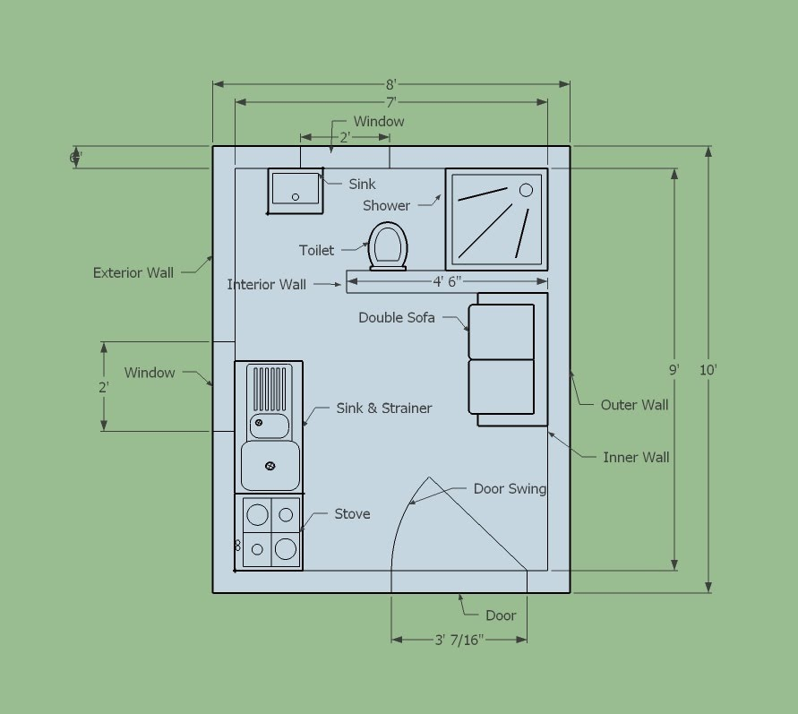 Create Floor Plans Using Google Sketchup: google floor plan