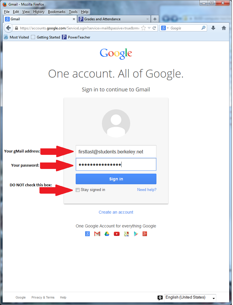 Gmail accounts ms coes classes depending on which internet browser you use the sign in screen might look a bit different also google sometimes changes the layout of their pages stopboris Choice Image