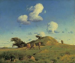 Malerier Fra Det Moderne Gennembrud Og Romantikken