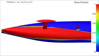 Wide Light Model Hull - Wolfson Unit Model