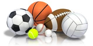 Volleyball,Football, Basketball, Soccer, Tennis, Baseball, Golf