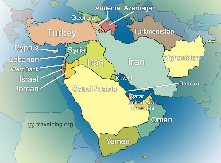 Middle East Map Worksheet Free Worksheets Library Download and