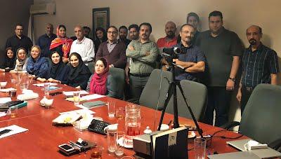 شرکت کنندگان در دوره نخست ITIL پدیسار