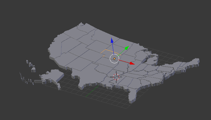 Make a statistical map in blender blender tutorials buuuutttwe have one more problem some of the islands are reversed gumiabroncs Gallery