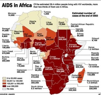 Aids Map Of Africa.Photo Gallery Aids And Hiv In Africa