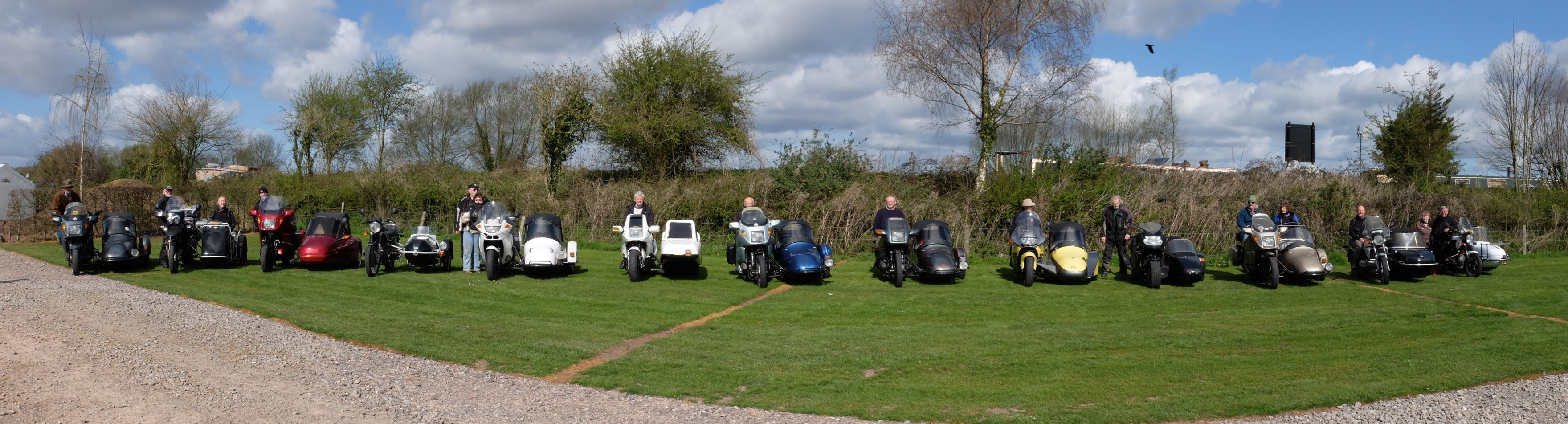 BMW outfits at HSOC's Slimbridge rally April 2015