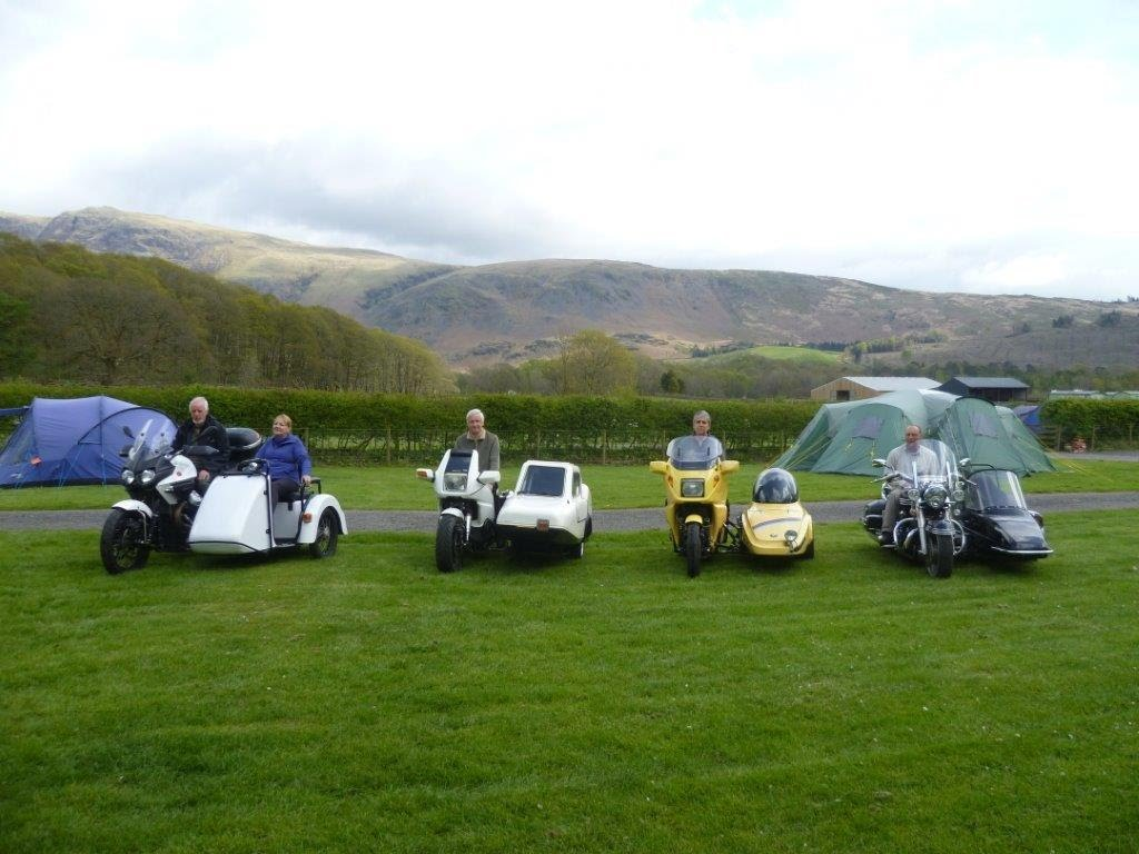 Sidecar Register Lake District Rally 2015