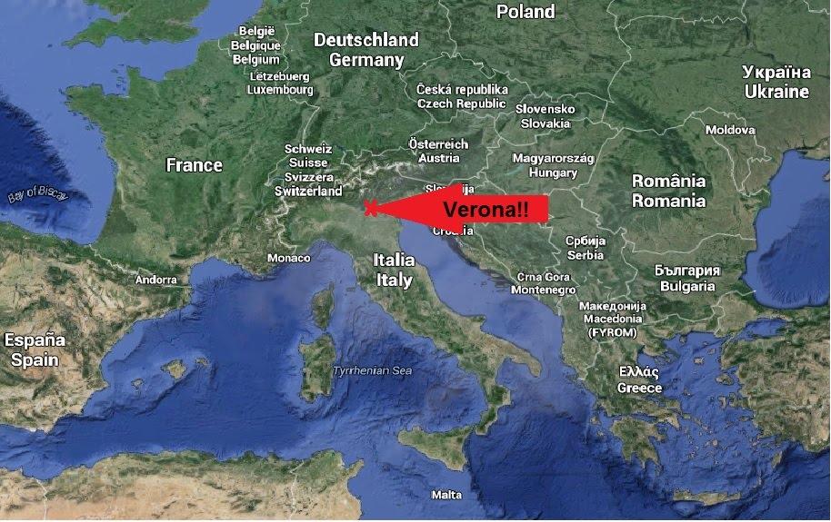 Interaktivt Kort Over Verona 2 C I Verona