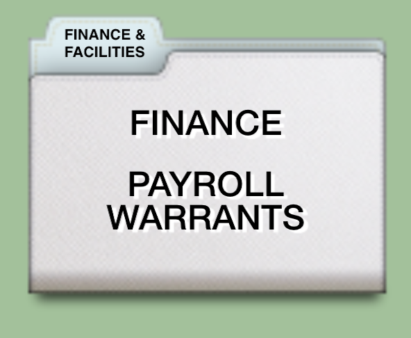 PAYROLL WARRANT SUMMARY 2016-17>