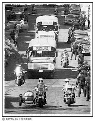 Boston Public Schools, Busing, Desegregation, History