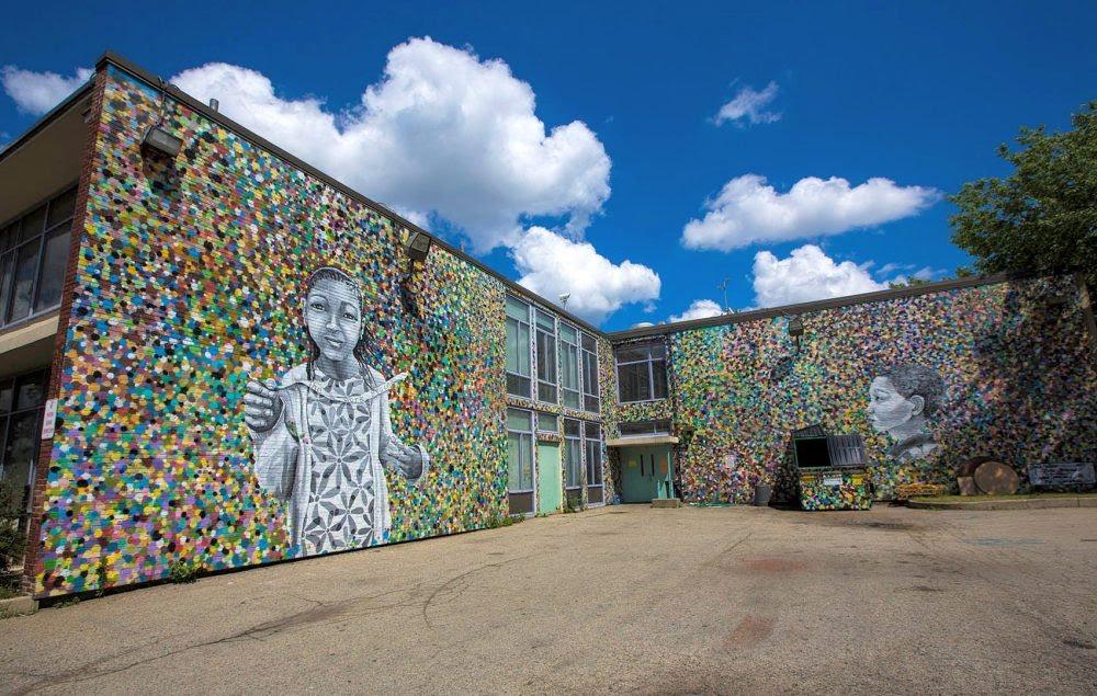 Tobin school home website tobin k 8 for Boston wall mural