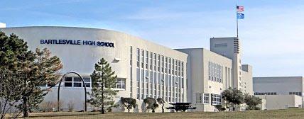 Bartlesville High School Front Facade