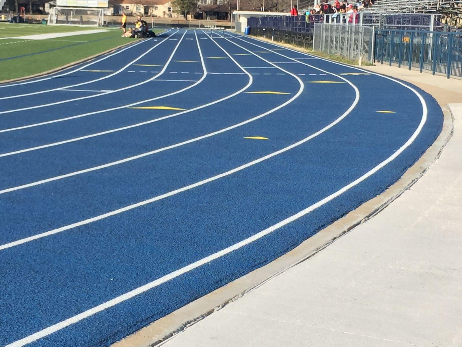 Track resurfaced