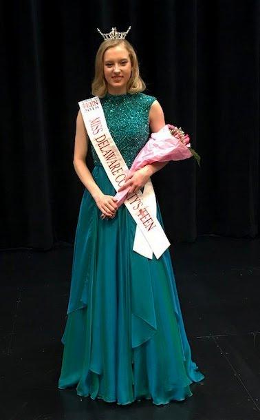 Cassie Harding Miss Delaware County's Outstanding Teen
