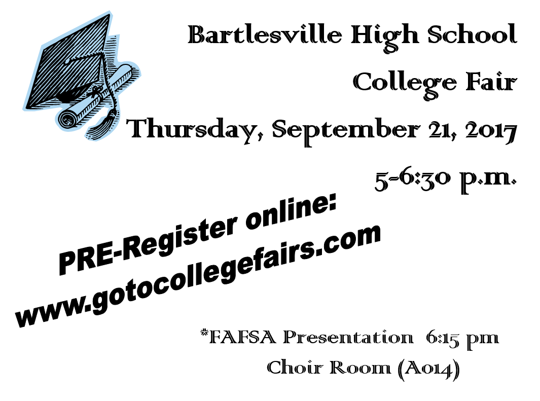 BHS College Fair Flyer