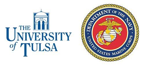 University of Tulsa and U.S. Marines logo