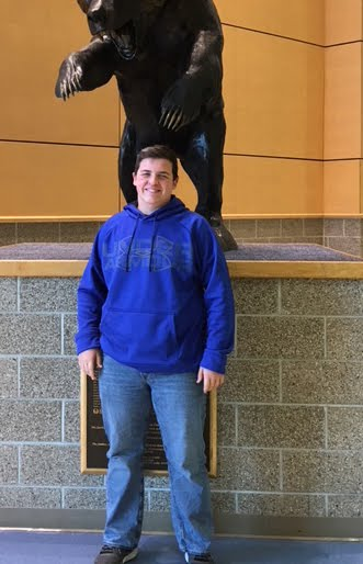 Colten Green, Freshman Academy Student of the Month for November