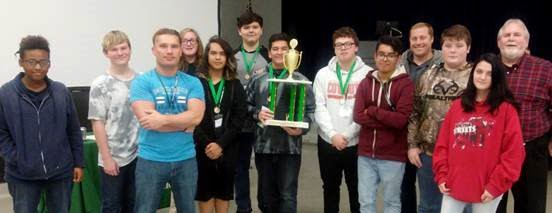 BHS Students Win First Place in JA Stock Market Challenge