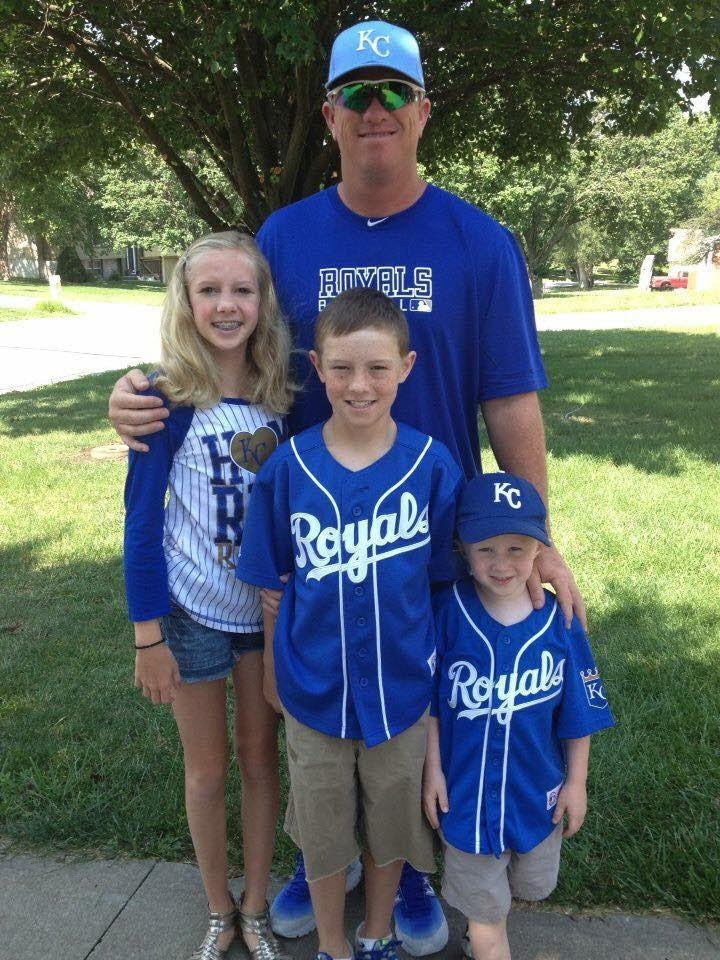 Coach Rigdon and his family