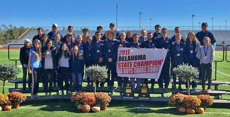 Boys Cross Country State Champions