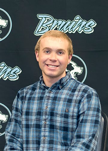 Senior, Andrew Day, Bruin Group Student of the Month for November