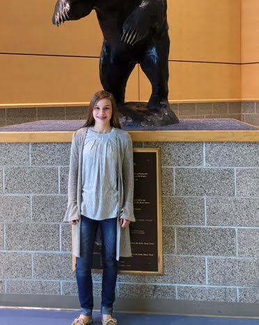 Grace Ontiveros, Freshman Academy Student of the Month for November