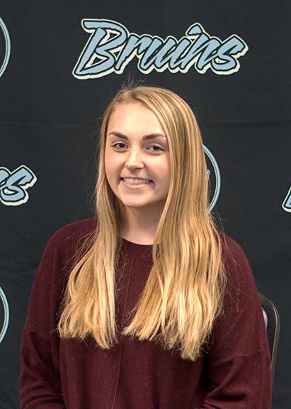 Sophomore, Julianna Ahlert, Bruin Group Student of the Month for November