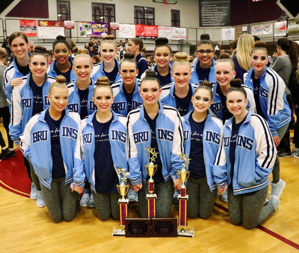 Poms with awards